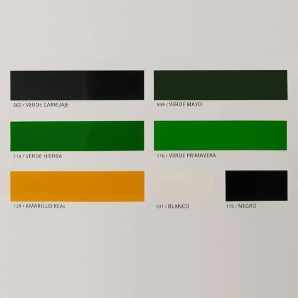 foto 2 de carta de colores esmalte sintético Dokapi