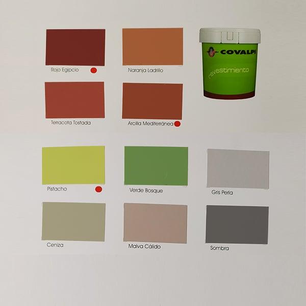 foto 3 de carta de colores revestimiento Covalpi