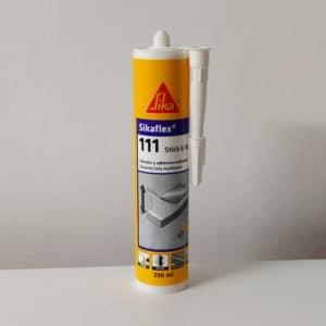 imagen adhesivo sellador multiusos sikaflex blanco