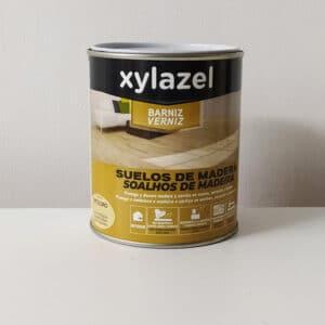 foto de barniz al disolvente para suelos de madera Xylazel 750ml