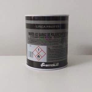 foto de barniz de poliuretano 2 componentes Pavifer 420 Ferroluz