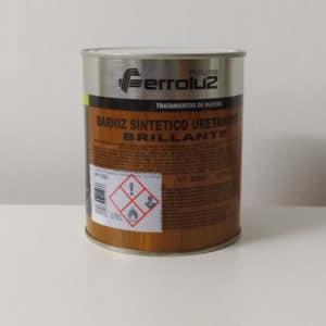 foto reverso barniz sintético uretanado brillante Ferroluz