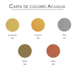 carta de colores esmalte acualux Titanlux