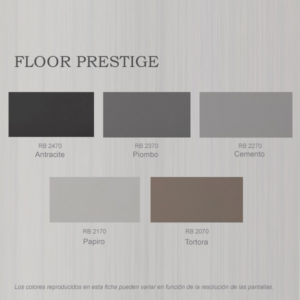 foto de carta de colores esmalte Floor Prestige