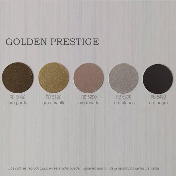 foto de carta de colores esmalte Golden Prestige