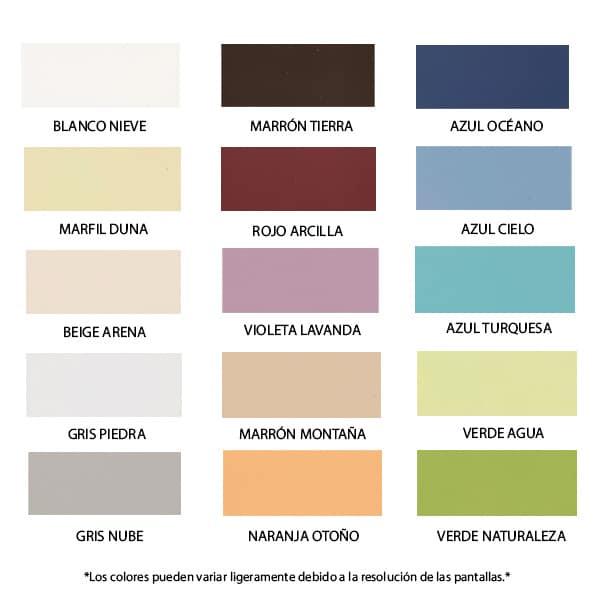 foto de carta de colores pintura hogares saludables Xylazel
