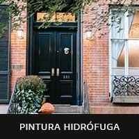 imagen de fachada con pintura hidrófuga