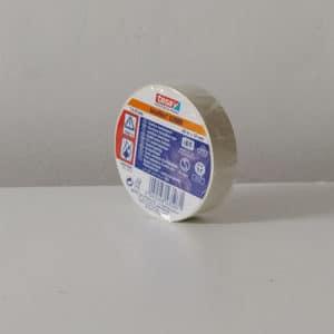 foto de cinta aislante blanca 19mmx20m