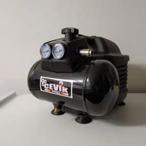 foto de compresor cevik pro sin aceite 1CV