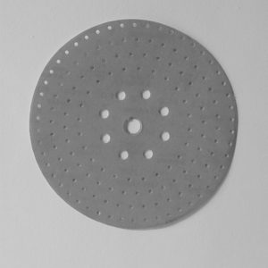 foto de disco de lija diámetro 225mm