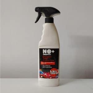 foto de decapante de grafitis en spray no+graffiti 500ml