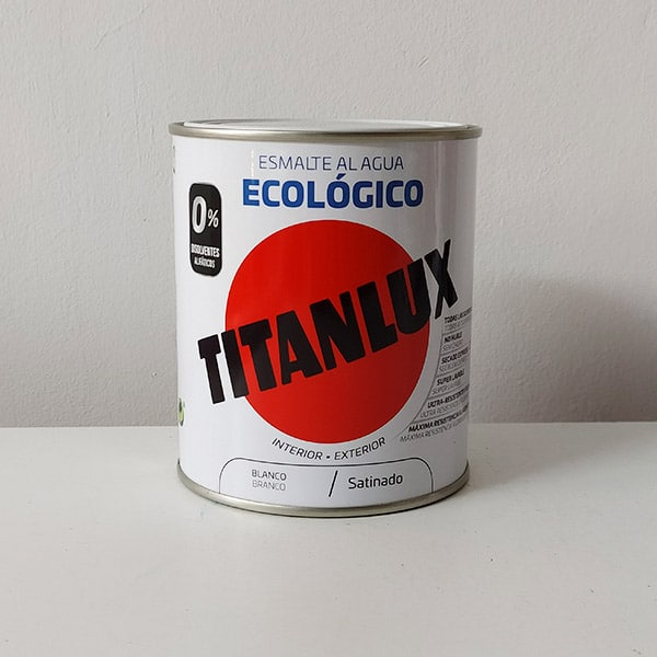 esmalte ecológico al agua Titanlux satinado