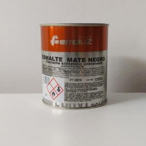 foto reverso esmalte sintético uretanado mate Ferroluz 750ml