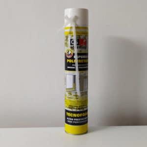 imagen espuma de poliuretano QS Adhesivos 658g