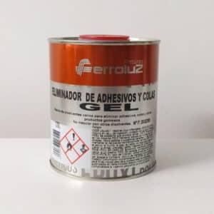 foto de gel eliminador de adhesivos y colas Ferroluz