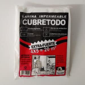 foto de lámina de plástico cubretodo extrafuerte