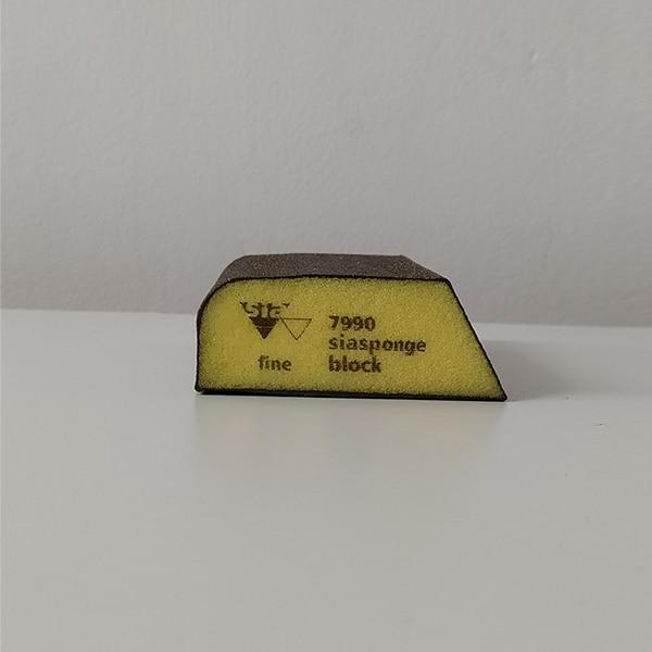 foto 3 de taco de lija trapezoidal 70x99mm