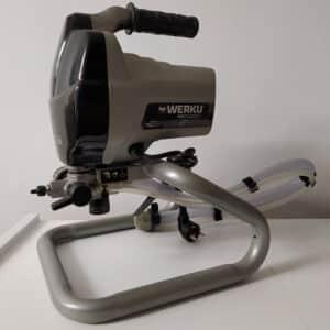 foto de máquina de pintura airless Werku