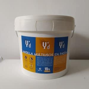 foto de masilla multiusos en pasta 15kg Ydeco