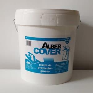imagen masilla de proyectar grueso Alber Cover 20Kg