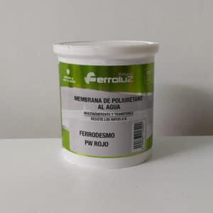 foto de membrana de poliuretano al agua Ferrodesmo PW rojo 750ml
