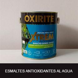 esmaltes antioxidantes al agua