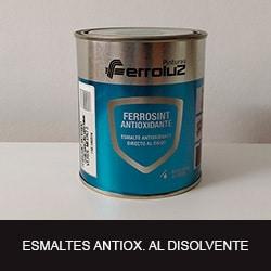 esmaltes antioxidantes al disolvente