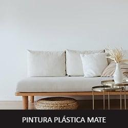 pintura plástica mate en ambiente