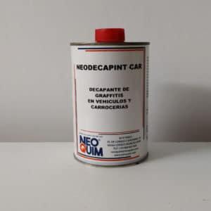 foto de decapante de grafitis para coches NeoQuim 500ml