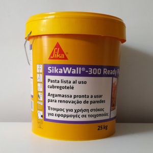 imagen de pasta al uso cubregotelé Sika 25Kg