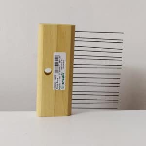 imagen de peine de rayar sencillo Trodis 12cm