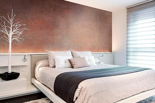 foto de pintura alta decoración efecto óxido moderno