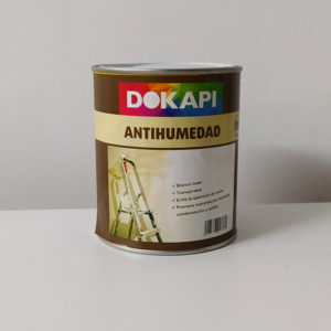 pintura antihumedad dokapi 750ml