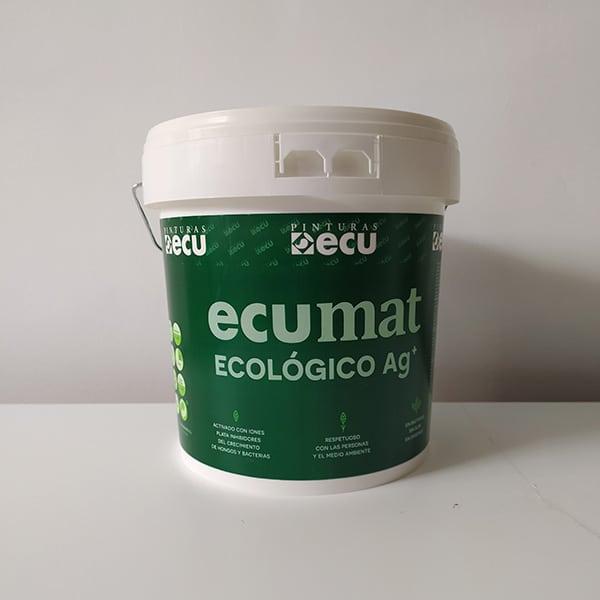 foto de pintura ecológica Ecumat