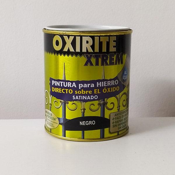 imagen pintura para hierro Oxirite Xtrem satinado 750ml