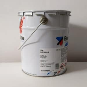 foto de reverso pintura para piscinas con poliuretano Piscispur 7kg