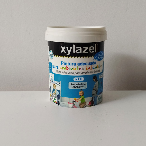 foto de pintura plástica ambientes infantiles Xylazel