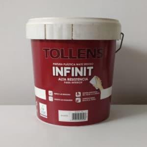 foto pintura plástica lavable infinit Tollens
