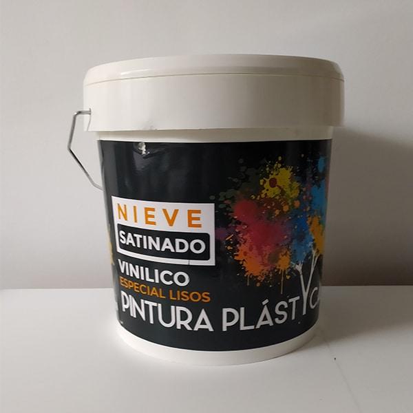 foto de pintura plástica satinado nieve Ydeco
