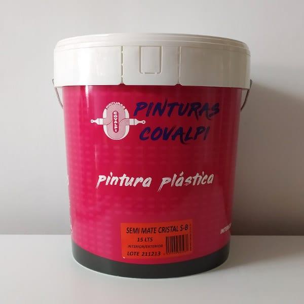 pintura plástica semi-mate cristal covalpi