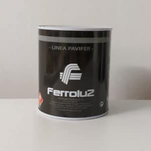 foto de pintura de señalización vial pavifer 151 Ferroluz