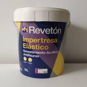 foto de revestimiento elástico antifisuras Impertresa Revetón 15L