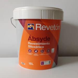 foto de revestimiento siloxánico Absyde Revetón blanco 15L