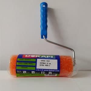 foto de rodillo con esponja de poro 3 Dokapi
