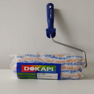 foto de rodillo tricolor acolchado Dokapi