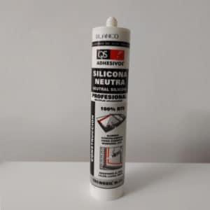 imagen de silicona neutra profesional QS Adhesivos