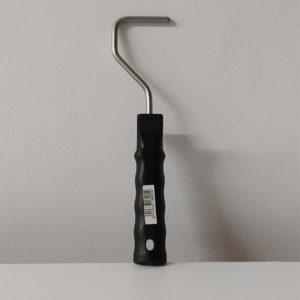 foto de varilla corta para mini rodillos 5cm color negro